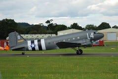 Dakota C47A flygplan royaltyfria foton
