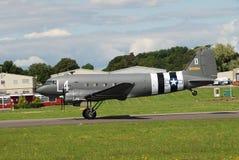 Dakota C47A samolot zdjęcia stock