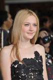 Dakota Fanning. At the world premiere of her new movie 'The Twilight Saga: New Moon' at Mann Village & Bruin Theatres, Westwood. November 16, 2009  Los Angeles Royalty Free Stock Photos
