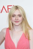 Dakota Fanning at the AFI Life Achievement Award Honoring Shirley MacLaine, Sony Pictures Studios, Culver City, CA 06-07-12 Royalty Free Stock Photo