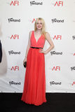 Dakota Fanning arriving at the AFI Life Achievement Award Honoring Shirley MacLaine Stock Photo