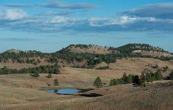 Dakota landskap fotografering för bildbyråer