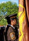 Dakota okręgu administracyjnego Sherrif gwardia honorowa Zdjęcia Royalty Free
