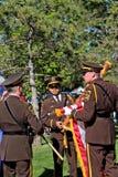 Dakota okręgu administracyjnego Sherrif gwardia honorowa Zdjęcia Stock