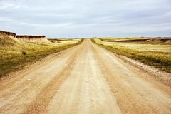 Dakota Road Royalty Free Stock Images