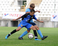 dakovo比赛足球Tuzla青年时期 库存照片