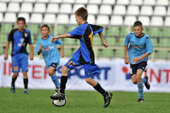 Dakovo - Tuzla-Jugendfußballspiel Lizenzfreie Stockfotografie