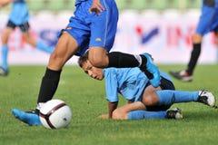Dakovo - Tuzla youth soccer game Stock Images