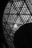 Dakraamvenster - abstracte architecturale achtergrond stock afbeelding