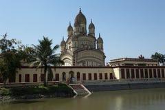 Dakshineswar卡利市寺庙,加尔各答,印度 免版税库存图片