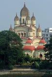 Dakshineswar卡利市寺庙,加尔各答,印度 免版税库存照片