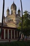 Dakshineswar卡利市寺庙,加尔各答,印度 库存照片