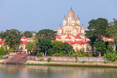 Dakshineswar Kali Temple Imagem de Stock Royalty Free