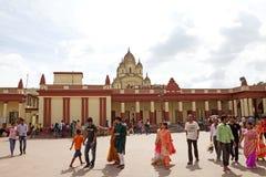 Dakshineswar Kali Temple, Calcutta, India immagine stock