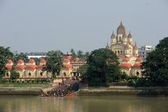 Dakshineswar Kali Temple, Kolkata, Inde Photos stock