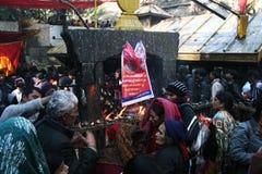 Dakshinkali foto de stock royalty free