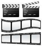 Dakspaan en film Royalty-vrije Stock Afbeeldingen