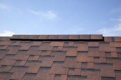 Dakspanen op het dak royalty-vrije stock foto's