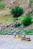 Daksparren op de rivier Stock Afbeeldingen