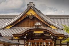 Dakstructuur bij het Heiligdom van Fushimi Inari Taisha Shinto Royalty-vrije Stock Afbeeldingen
