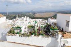 Daktuin in La Frontera, Spanje van Vejer DE royalty-vrije stock foto