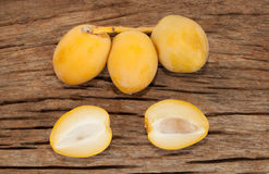 Daktylowej palmy owoc Zdjęcia Stock