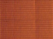 Dakwerk materiële rode tegel royalty-vrije stock fotografie
