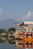 Dal湖,斯利那加,查谟和克什米尔,印度 库存照片