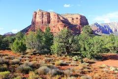 Dal av de röda rocksna, Nevada, USA Fotografering för Bildbyråer