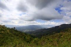 Dal av det lianhuashan berget Fotografering för Bildbyråer