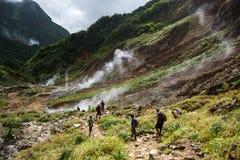 Dal av enslighet i Dominica royaltyfria bilder