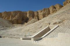 Dal av konungar nära Luxor egypt Royaltyfria Bilder