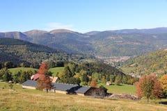Dal av Munster i Alsace Royaltyfria Bilder