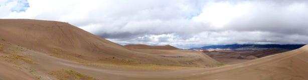 Dal av sanddyn på nationalparken Royaltyfri Bild