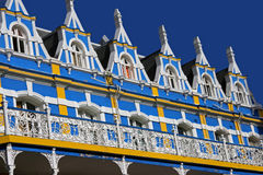 Dal balcone Fotografia Stock
