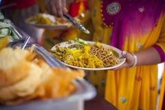 Dal Bhat Fotografia Royalty Free