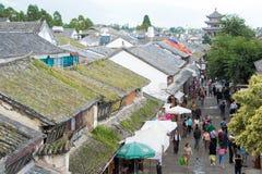 DAL CHINY, Aug, - 31 2014: Dali Stary miasteczko sławny punkt zwrotny w t Obrazy Royalty Free