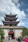 DAL CHINY, Aug, - 31 2014: Dali Stary miasteczko sławny punkt zwrotny w t Zdjęcie Royalty Free