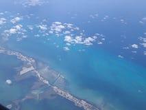 Dal cielo al mare immagini stock libere da diritti