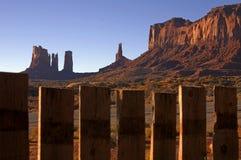 dal för 6 monument Arkivfoto