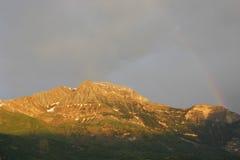 dal för bergpyrenees tena Royaltyfri Foto