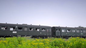 dal för england järnväg severn ångadrev arkivfilmer