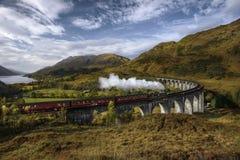 dal för england järnväg severn ångadrev arkivfoto