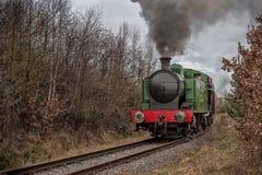 dal för england järnväg severn ångadrev royaltyfri bild