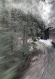 dal för england järnväg severn ångadrev Royaltyfri Foto