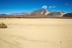 dal för löparbana för dödnatioplaya Arkivfoto