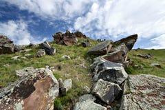 dal för rocks för caucasus högberg Arkivbild