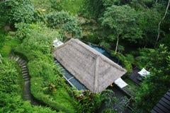 dal för ubud för mayasemesterortbrunnsort Arkivfoton
