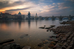 Dal fiume Fotografie Stock