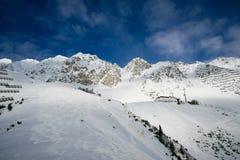 Dal i Alps Royaltyfri Bild